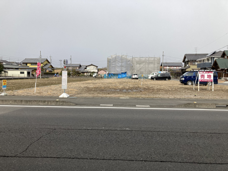 羽島福寿町モデルハウス建設予定地