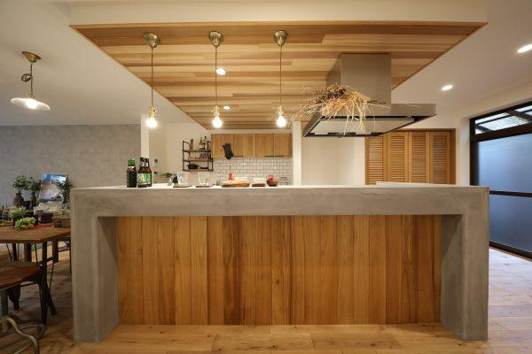 Island kitchen house